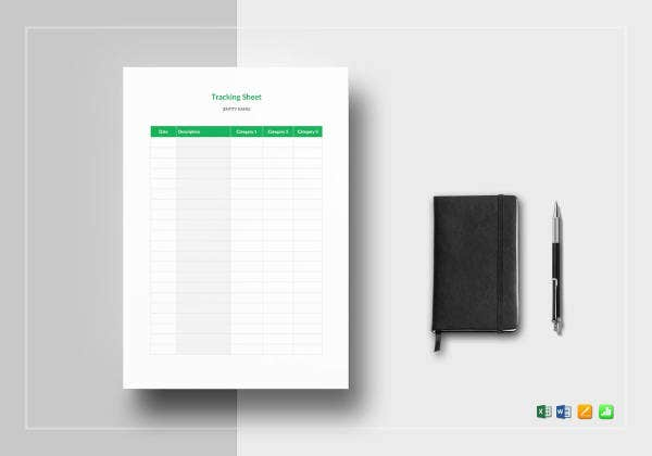 tracking sheet template1