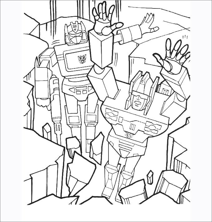 30 Transformers Colouring Pages Free Premium Templates