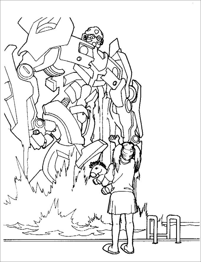 get transformer color pages printed and let your kids color as per their imagination this amusing page will keep your little ones busy in doing creative - Transformers Prime Coloring Pages