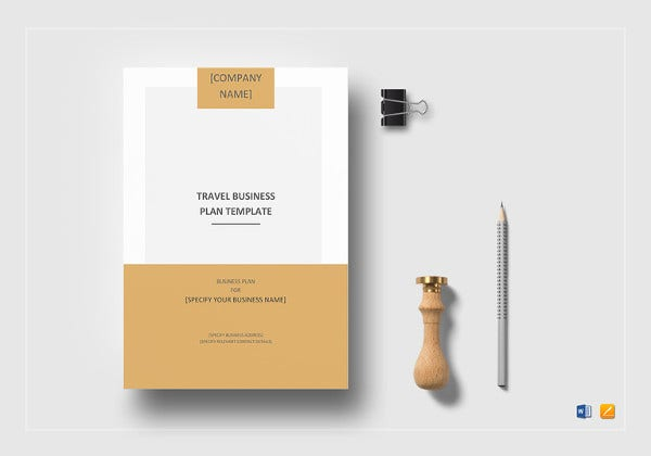 travel business plan template