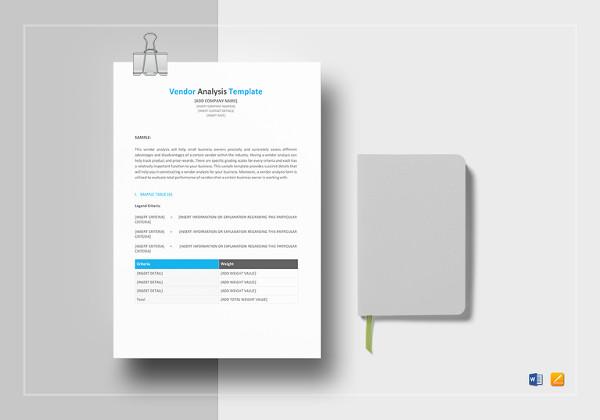vendor-analysis-template-in-word