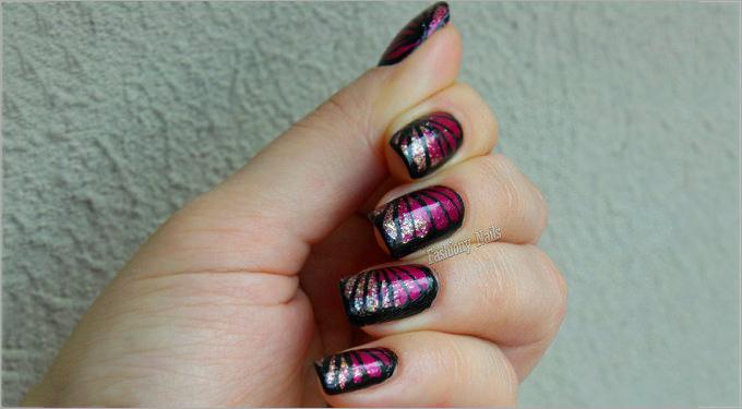 water nail polish design