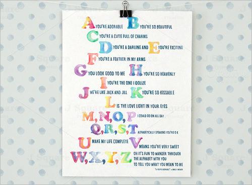 watercolor nursery alphabet letter art suite1