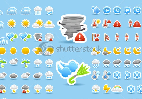 weather icon suite collection