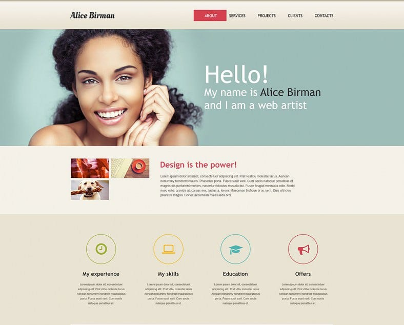 Web Development Muse Static Template