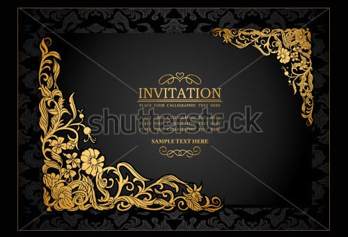 Aniversary Invitation Templates  Free Psd Format Download