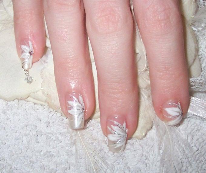 wedding design nail
