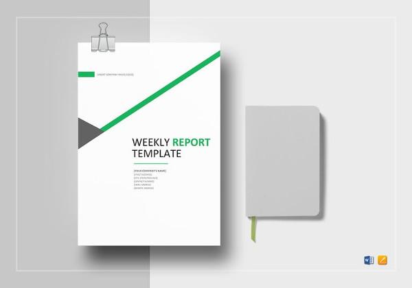 weekly-status-report-template