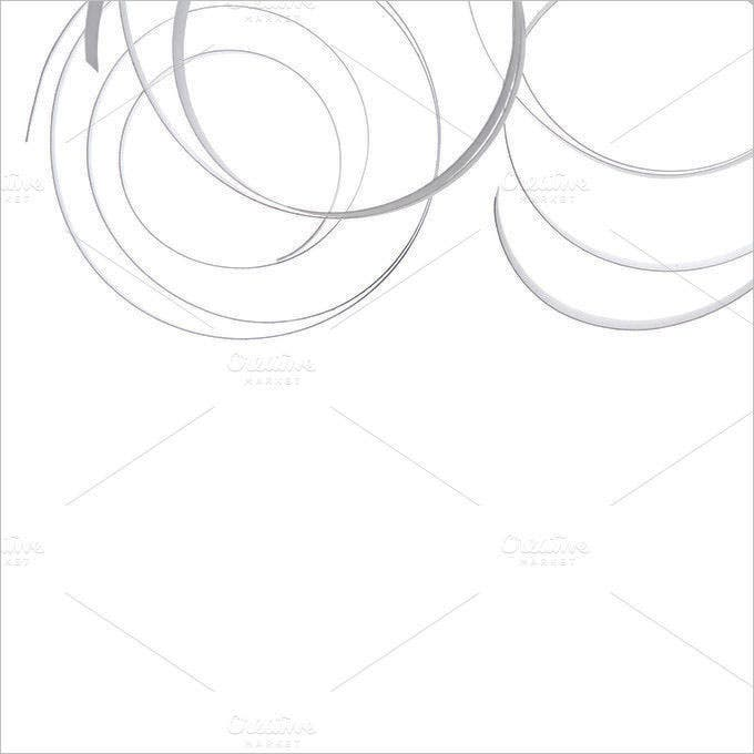 white ribbon abstract background