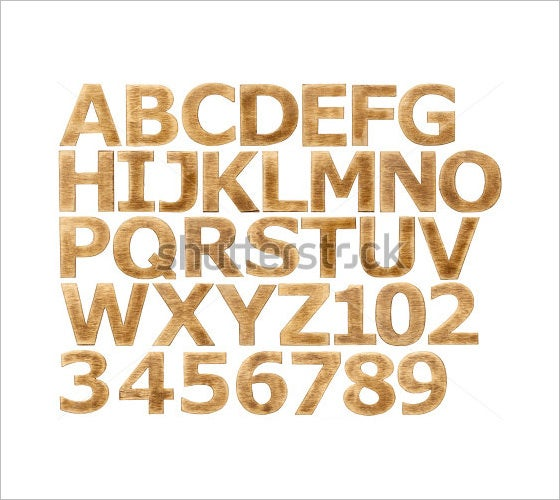 wooden alphabet letters and numbers