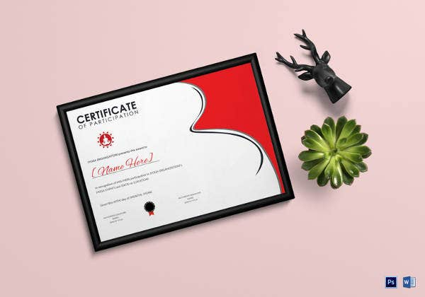 yoga gift certificate template free - 30 word certificate templates free download free