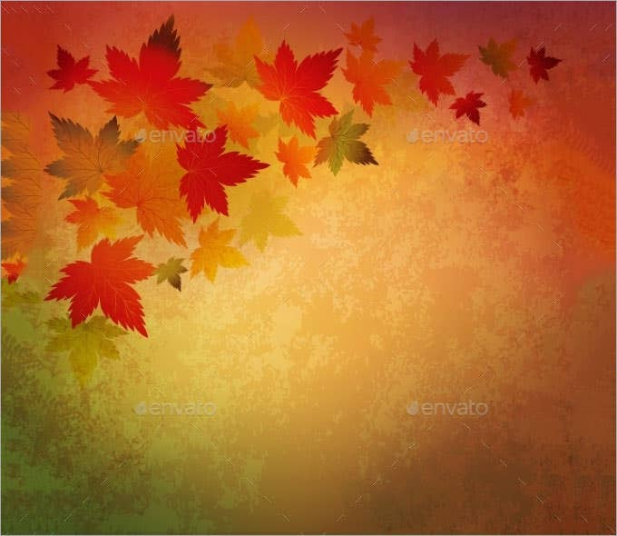 abstract autumn vintage background