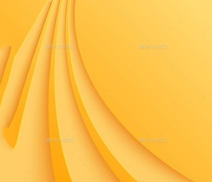 abstract yellow background with curved lines