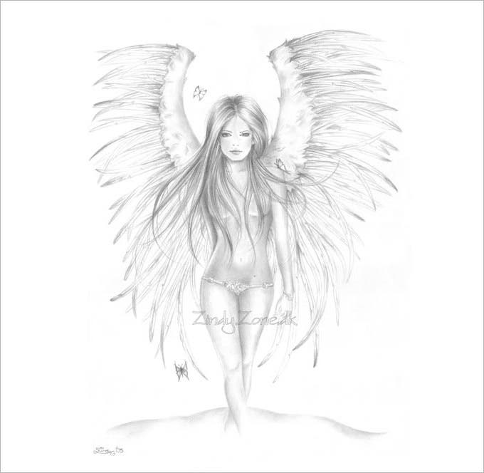 30 angel drawings free drawings download free premium templates