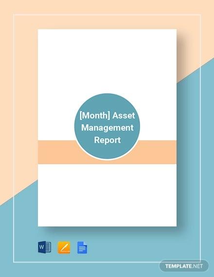asset management report