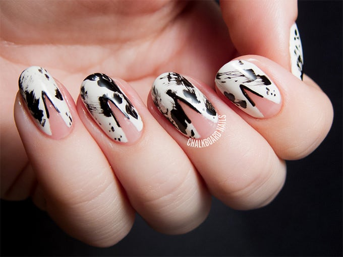 crazy cool nail design