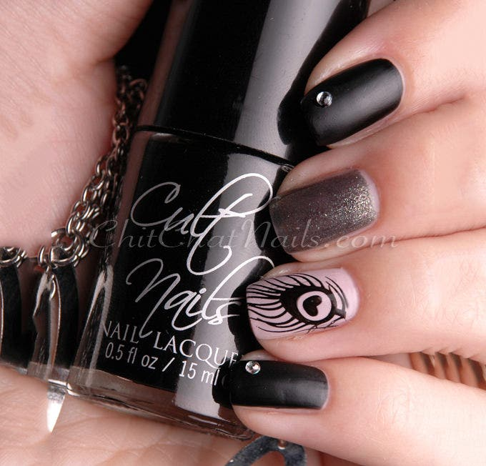 crazy nail art design gallery