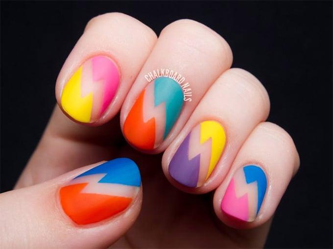 crazy nail design 2015
