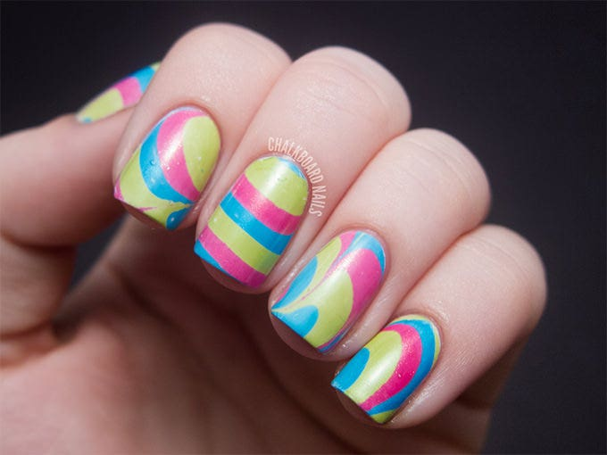 crazy nail designs picture