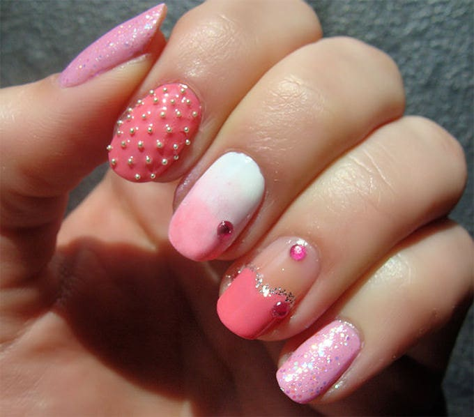 25 Crazy And Creative Nail Designs Free Premium Templates