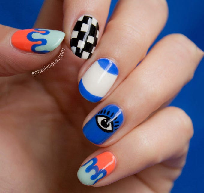 creative nail design lotion