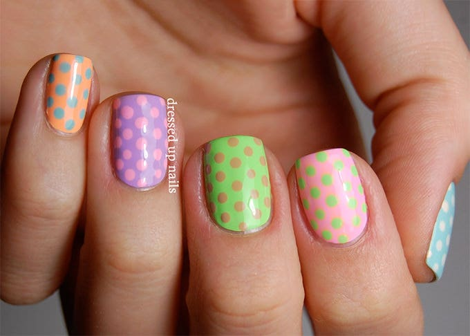 41 simple and best easter nail art designs free premium templates easter nail design 2015 prinsesfo Choice Image