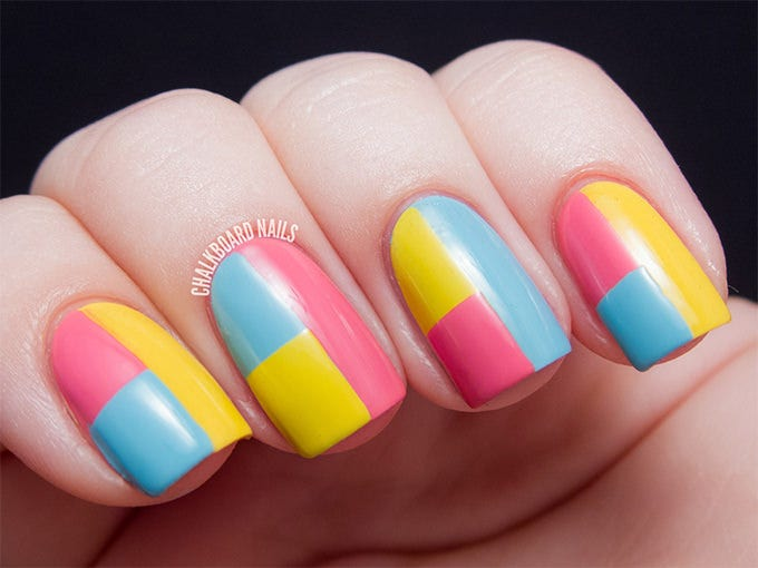 easy easter nail design
