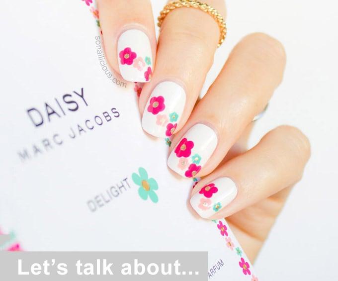 25+ Flower Nail Designs & Ideas! | Free & Premium Templates
