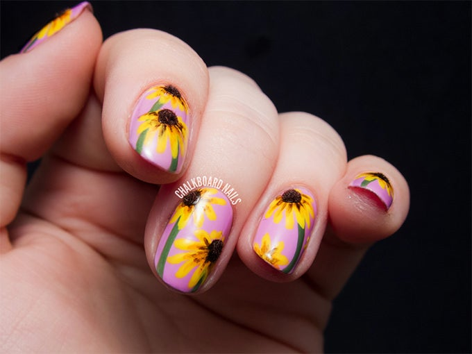 Flower Nail Design - 25+ Flower Nail Designs & Ideas! Free & Premium Templates
