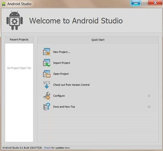 how to create software for android