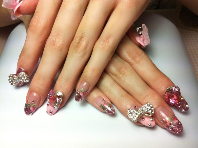 nail 3d design