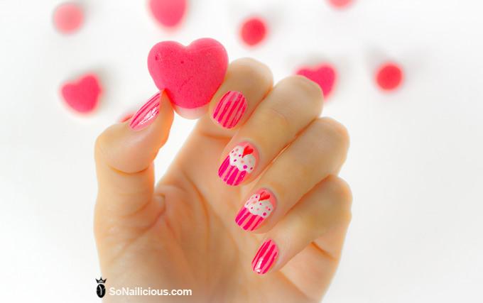 pink nail designs 2015
