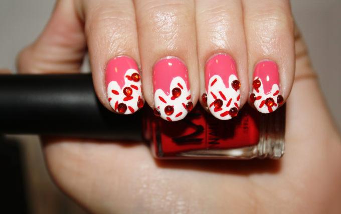 simple 3d nail design 2