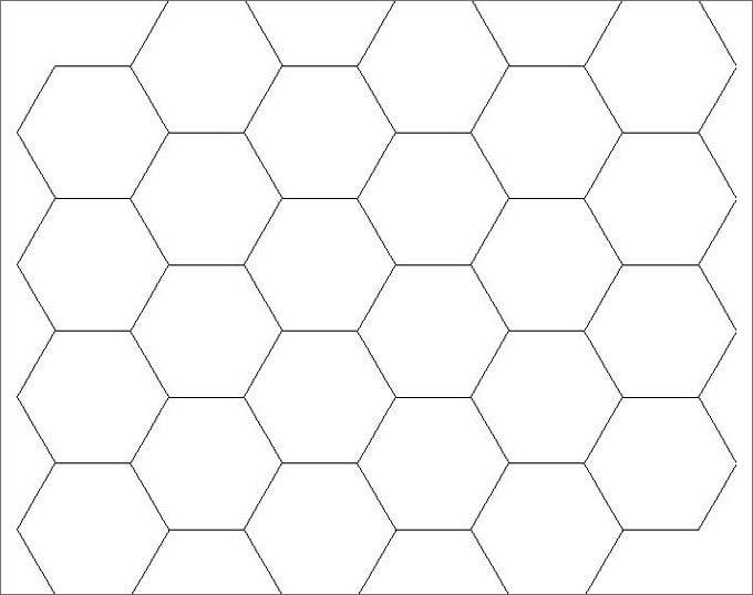 simplehexagonalpattern