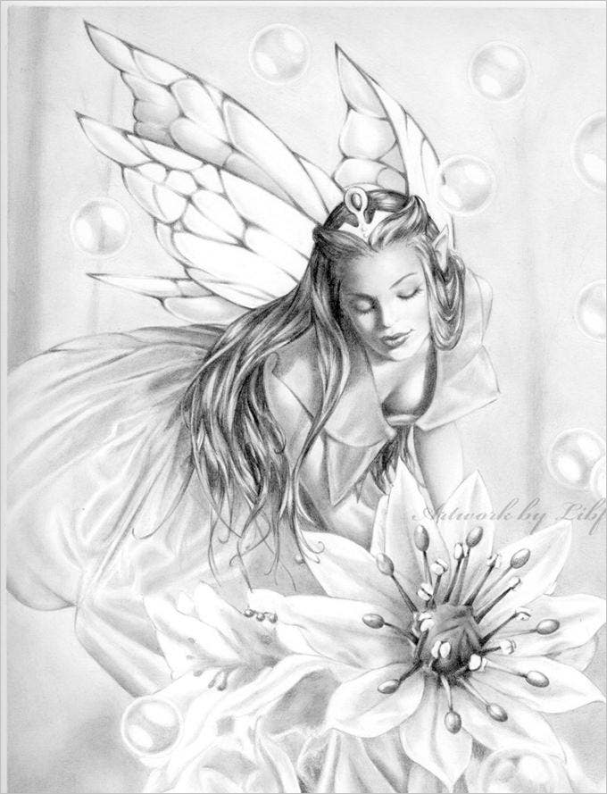 30+ Angel Drawings - Free Drawings Download | Free ...
