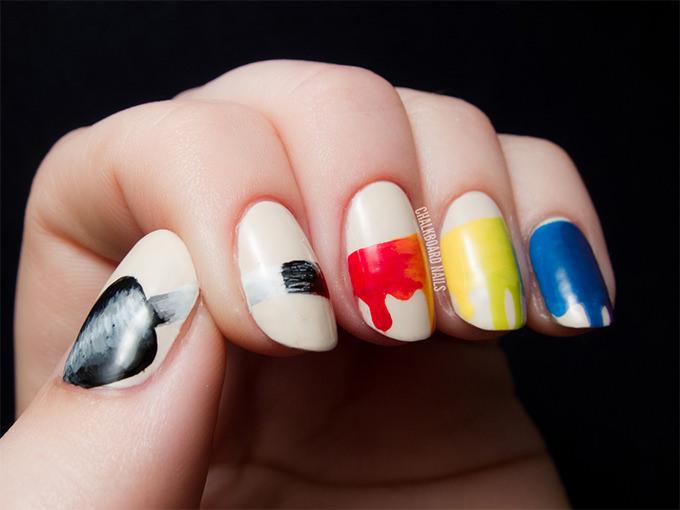 unique and creative nail design