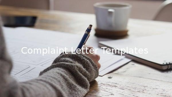 complaintlettertemplate
