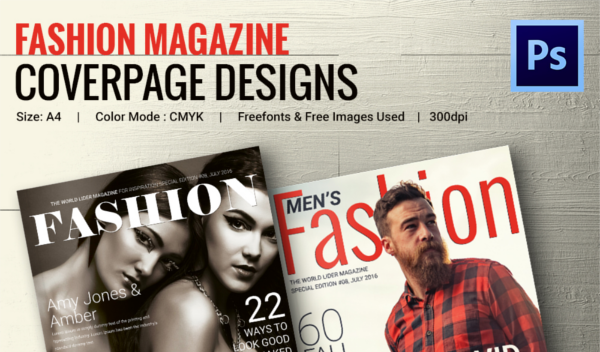 Magazine Cover Psd Templates 54 Free Psd Ai Vector Eps