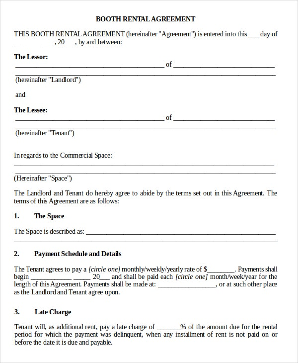 14+ Basic Rental Agreement Templates – Free Sample, Example Format