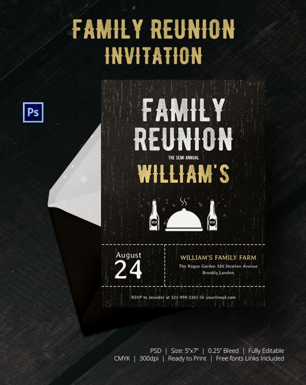 Special Family Get Together Invitation