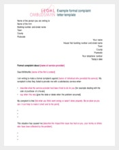 employee-complaint-letter