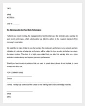 Free-Warning-Letter-for-Poor-Attendance-Word-Doc-Download