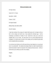 370 hr letter templates hr templates free premium templates retirement invitation letter template1 stopboris Choice Image