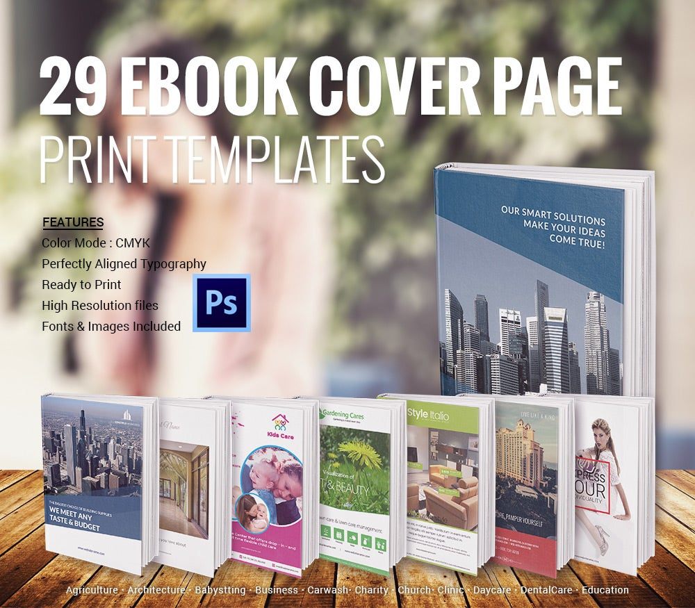 eBook Cover Page Template