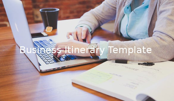 businessitinerarytemplate