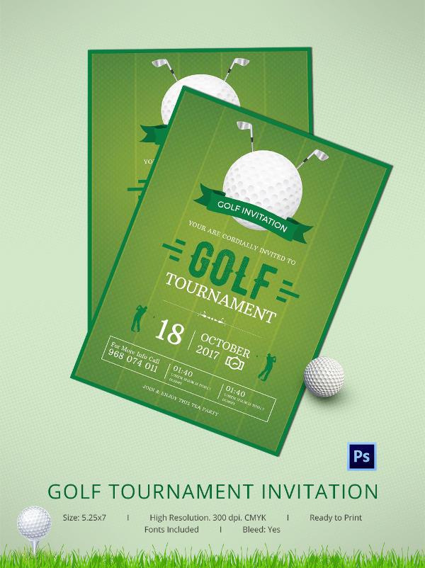 Fabulous Golf Invitation
