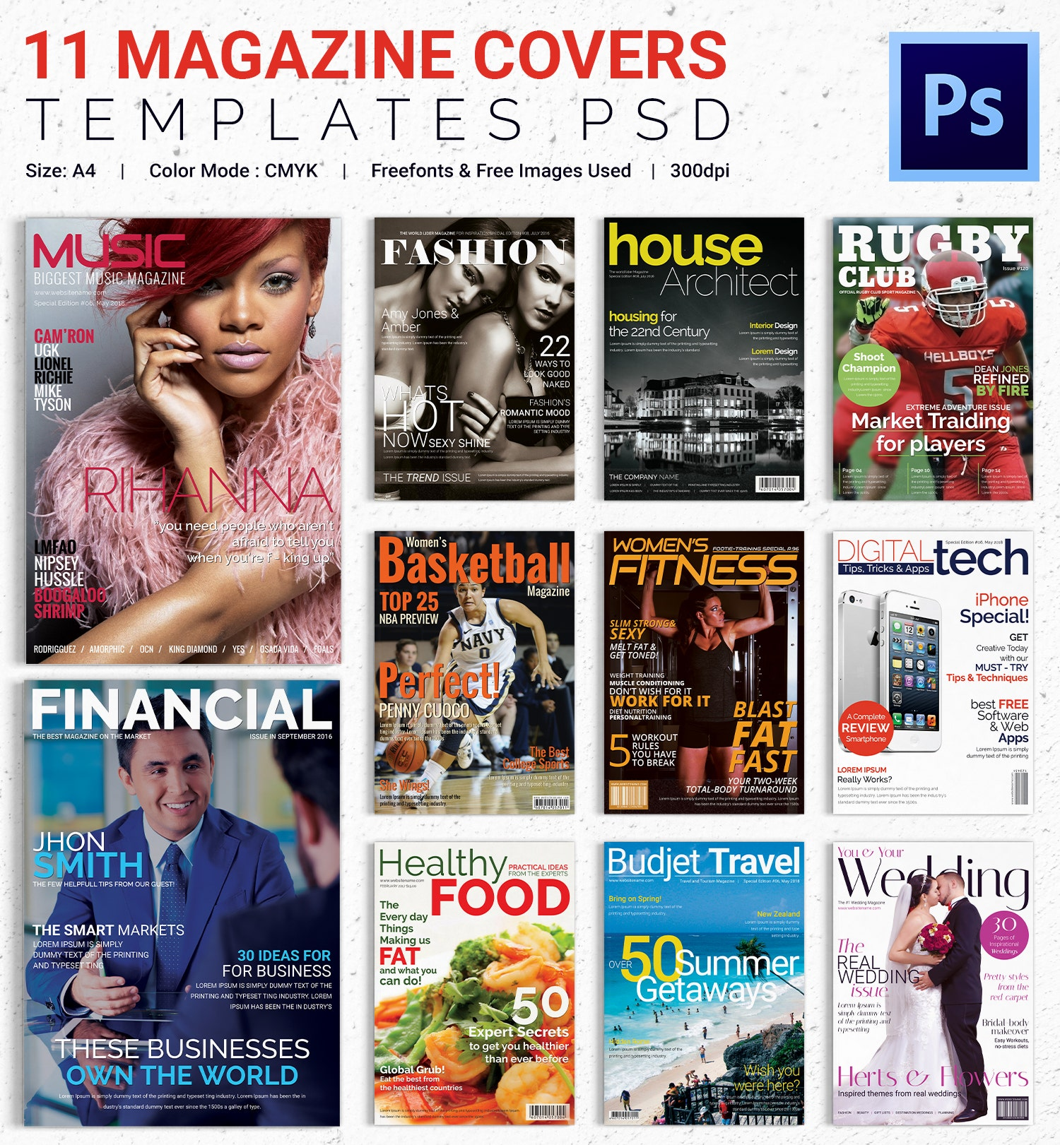 magazine cover psd template 31 free psd ai vector eps format download free premium. Black Bedroom Furniture Sets. Home Design Ideas