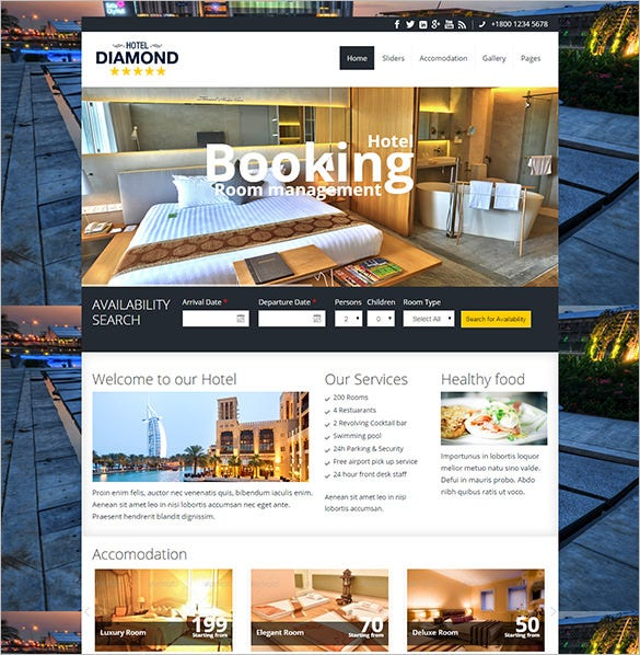 15+ Drupal Hotel Themes & Templates | Free & Premium Templates