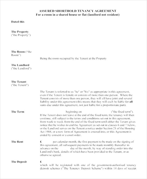 17+ House Rental Agreement Templates – Free Sample, Example Format ...