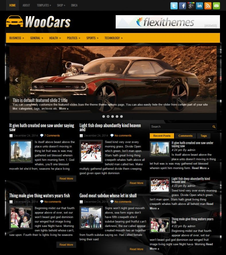 1 woocars dark black responsive wordpress theme 788x890